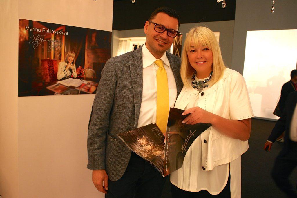 16 апреля во время международной мебельной выставки в Милане ISaloni 2015 состоялась долгожданная презентации новой коллекции эксклюзивных люстр от Марины Путиловской