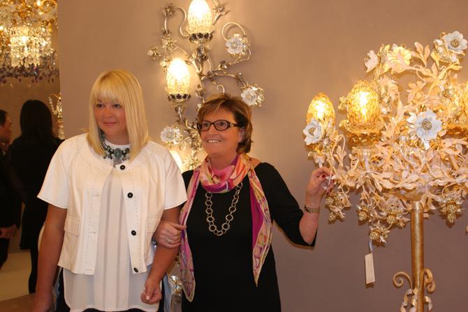 16 апреля во время международной мебельной выставки в Милане ISaloni 2015 состоялась презентация новой коллекции эксклюзивных люстр от Марины Путиловской